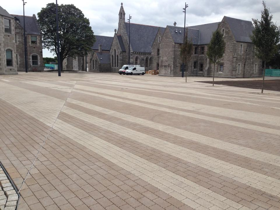 Stratford-on-Slaney paving contractors